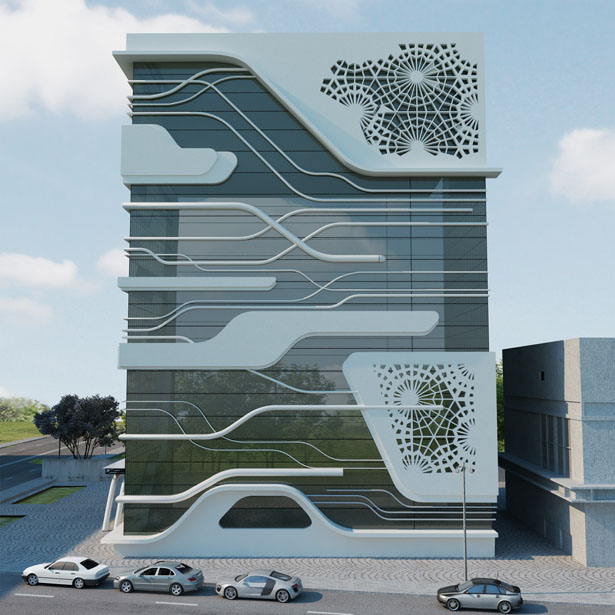 Office Building Of A Gas Company By Naser Nasiri And Taher
