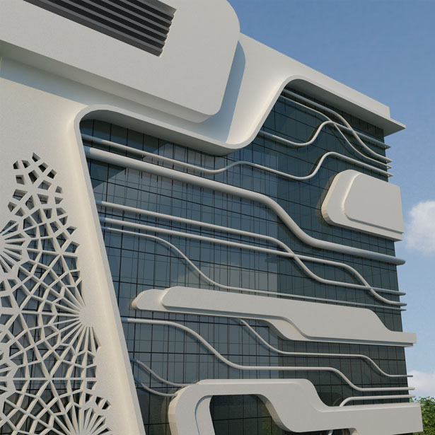 Office Building of Gas Company by Naser Nasiri and Taher Nasiri