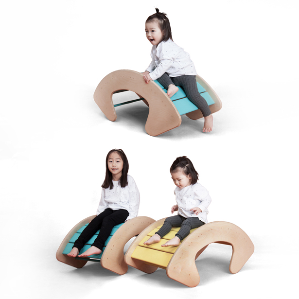 Oh Rocking Multi-Functional Furniture by Kim-Namgyun and Hwang-Kinam