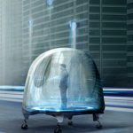 Oiio Oto Pod : Futuristic Public Transportation Concept for The City of Los Angeles