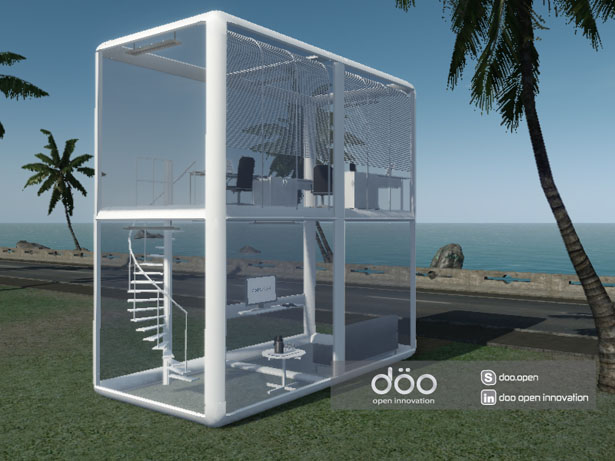 Okah Original Kit Assembled House by Andre Sola