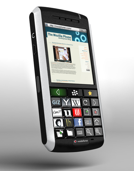 oled blackberry throw away concept phone