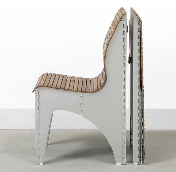 Ollie Chair Shape-Shifting Seating by RockPaperRobot