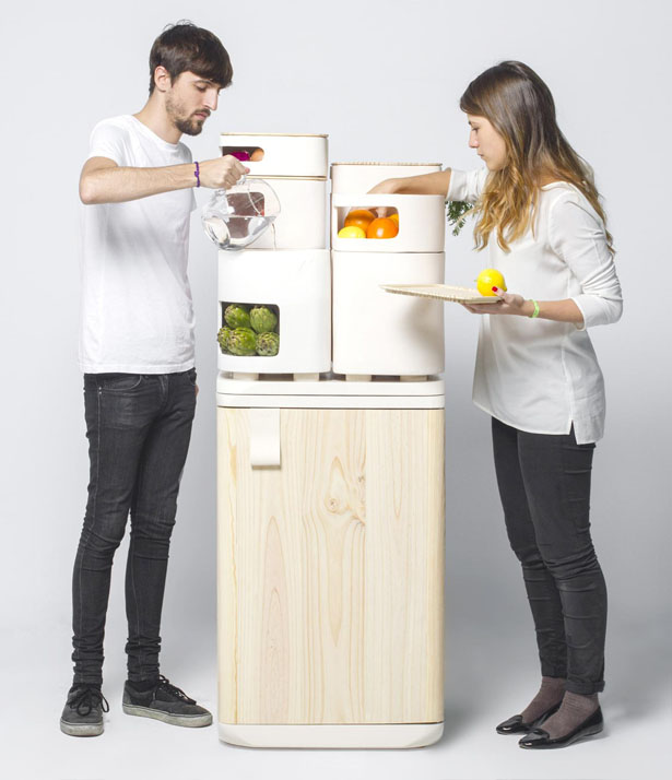 OLTU Fridge by Fabio Molinas
