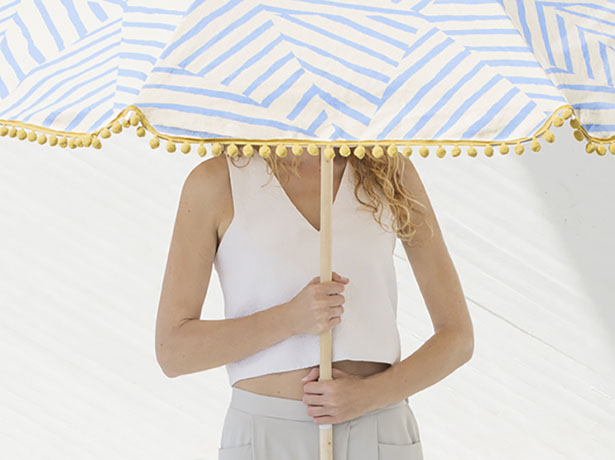 Omba Urban Beach Parasol by Tatabi Studio
