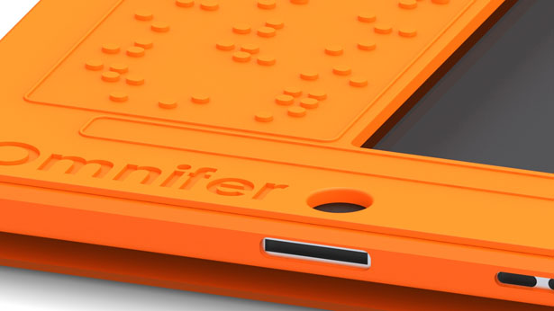 Omnifer iPad Accessory for Visually Impaired People