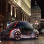 OMNI Self Driving Smart Mobility Concept for Urban Areas