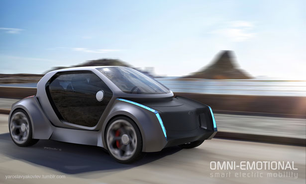 OMNI Self Driving Smart Mobility Concept by Yakovlev Yaroslav