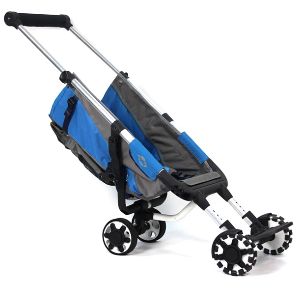 Omnio Rider Portable Stroller Worn Like Backpack by Innovative Makers