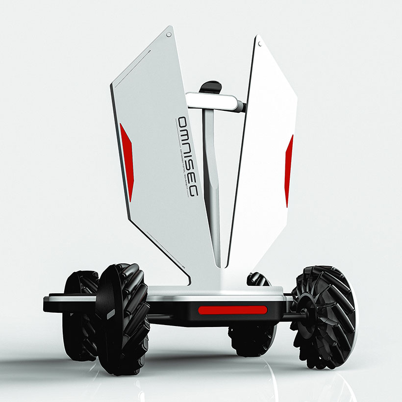 Omniseg Electric Scooter Concept by Yash Gupte