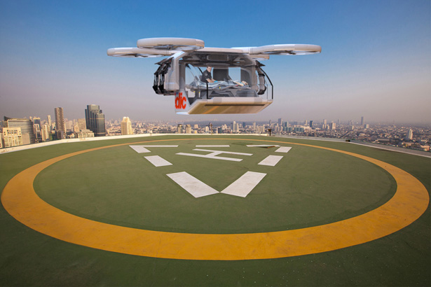 Drone Ambulance for Emergency Rescue by ArgoDesign