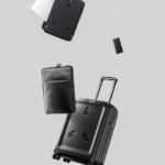 Jey & Em ONE: a Smart-Suitcase with Detachable Laptop Case by Sapetti
