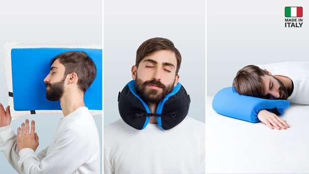 One Travel Pillow for Endless Sleeping Possibilities
