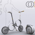 With One Urban Bike, You Can Fold Your Bike into A Compact Round-Shaped