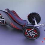 OOPHAGA Modern and Stylish Recumbent Trike