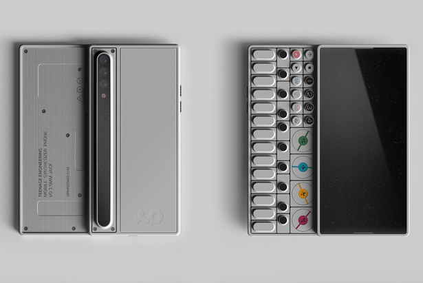 OP-S Smartphone with Built-in Synthesizer by Gris Design