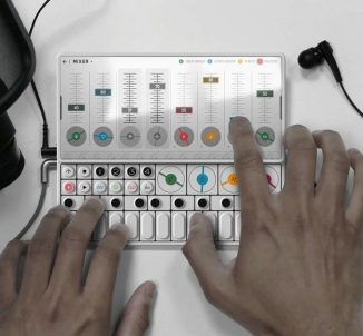 OP-S Smartphone Concept with Built-in Synthesizer for Music Maker