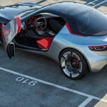 Opel GT Concept Car Features Panorama Glass Roof and Electric Doors