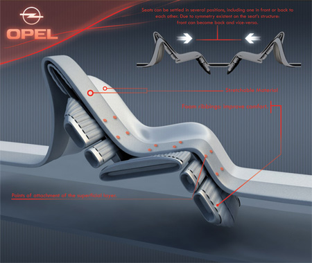 Opel Siderium Car Concept With Luxury And Futuristic