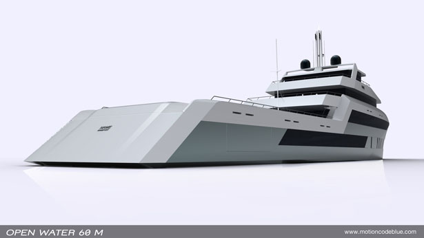Open Water 60m Explorer Yacht