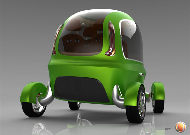 OPTI Driverless Taxi for London 2025