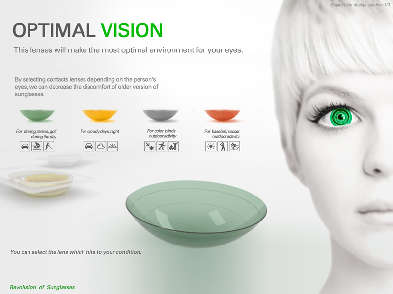Replace Your Sunglasses With Optimal Vision Contact Lenses