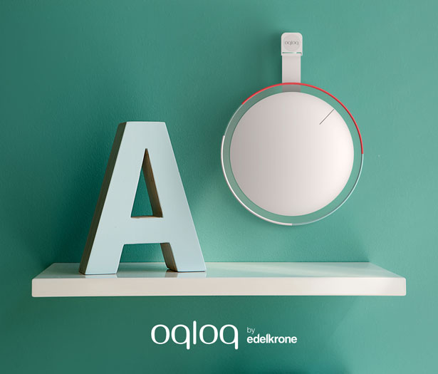 Oqloq Clock by Edelkrone