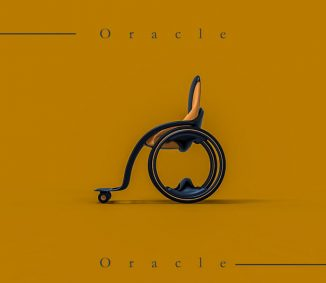 Oracle Modern Wheelchair for People with Reduced Mobility