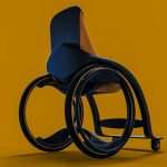 Oracle Modern Wheelchair for People with Reduced Mobility by Miguel Mojica