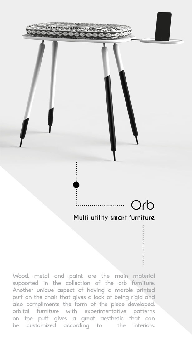 ORB Furniture Design by Subinay Malhotra