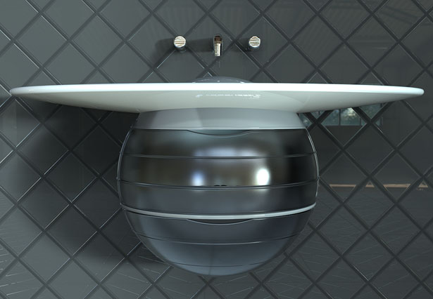 Orb Bathroom Vanity by Andrew McIntyre