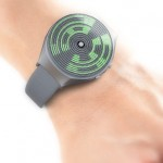 Orbit Concept Watch Proposal With Textured Display for Tokyoflash