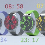 Orbit Concept Watch Proposal With Textured Display