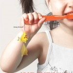 Orgel Toothbrush Encourages Children to Brush Their Teeth