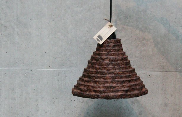 Oriental Coffee Lampshade : Made from Recycled Material by Ryan Jongwoo Choi