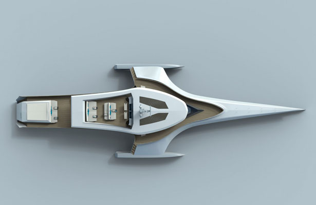 Origin 575 Trimaran Expedition Yacht