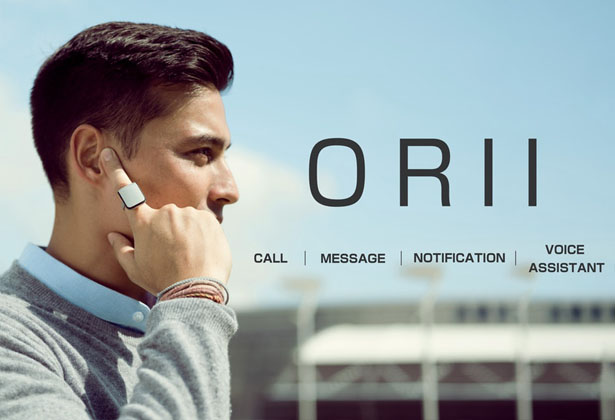 ORII Voiced Powered Smart Ring by Origami Labs