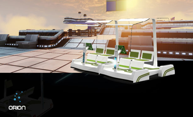 Orion Public Transport Concept by Supriyo Roy and Ameya Baporikar