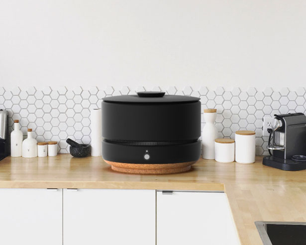 ORRE Modular Composter System for Small Living Space by Adam Szczyrba