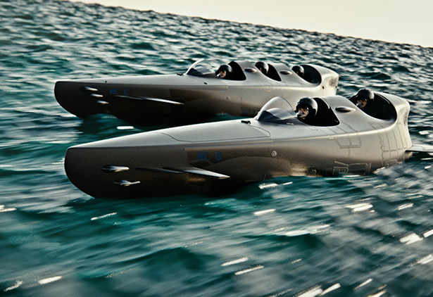 Ortega MK 1C Three-Seater Personal Submarine