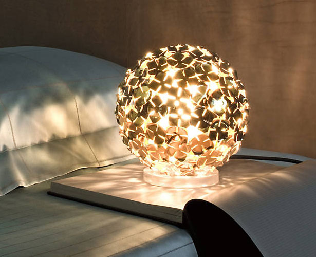 Terzani Orten'zia Small Rechargeable LED Table Lamp by Bruno Rainaldi