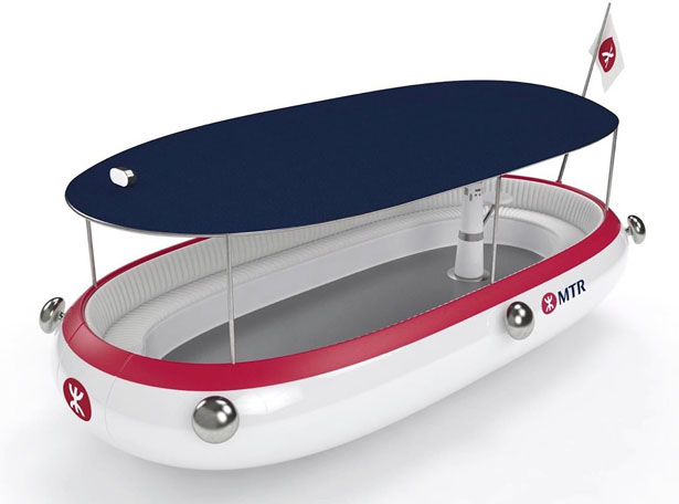 OseaD Concept Electric Boat for Hong Kong by Michael Young