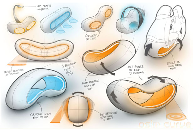 osim curve health and fitness concept