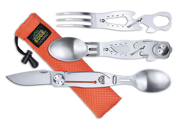 Outdoor Edge Chowpal All-in-One Utensil Set