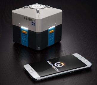 Cool Overwatch Loot Box Mood Light for Video Game Players