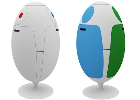 ovetto recycled recycling bin