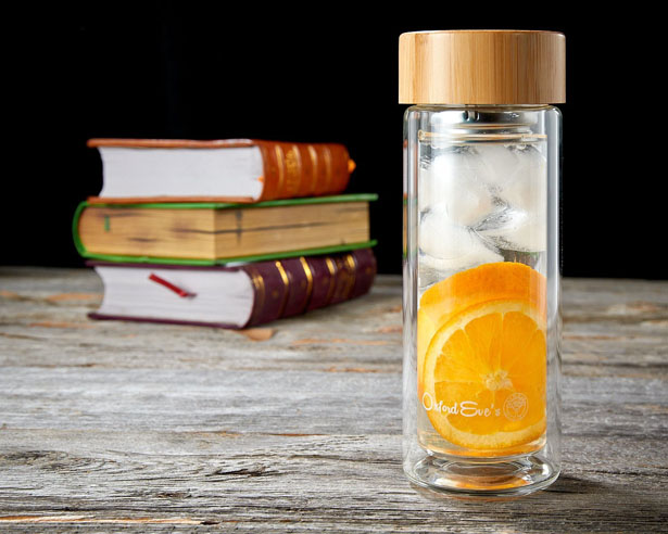 Oxford Eve's Tea and Fruit Infuser Glass Tumbler