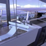 Oxseagen Yacht Concept Features Open Space Design Theme