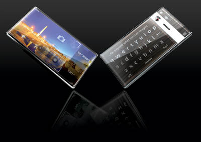 P-Per Futuristic Cell Phone with E-Paper Technology