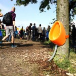 P-TREE : Temporary Tree-Friendly Urinal by Aandeboom